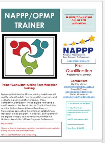 training - national association ofpeer program professionals